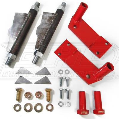 04.5-05 LLY Duramax - Sled Pulling Parts - DHD Diesel - DHD 600-652 01-10 Duramax Adjustable Front Suspension Stops