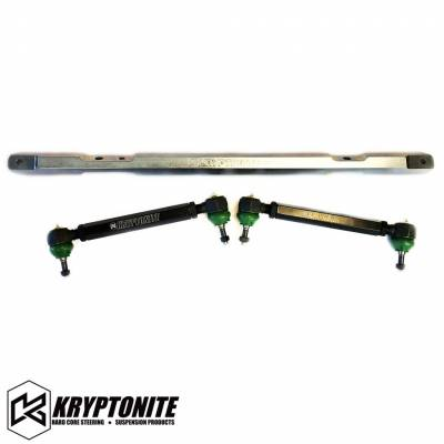 04.5-05 LLY Duramax - Steering - Kryptonite - KRYPTONITE 01-10 SS SERIES CENTER LINK TIE ROD PACKAGE