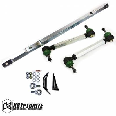 07.5-10 LMM Duramax - Steering - Kryptonite - KRYPTONITE 01-10 SS SERIES CENTER LINK AND TIE RODS W/ PISK KIT PACKAGE