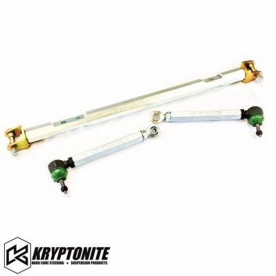 07.5-10 LMM Duramax - Steering - Kryptonite - KRYPTONITE 01-10 RACE SERIES CENTER LINK TIE ROD PACKAGE
