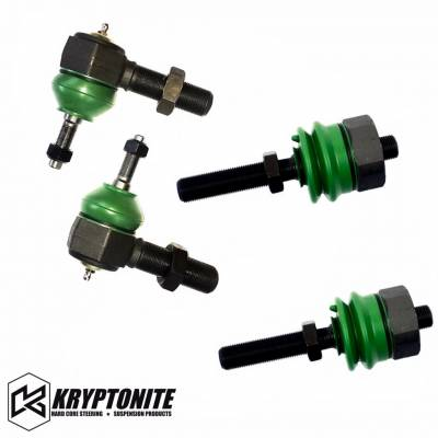 04.5-05 LLY Duramax - Steering - Kryptonite - KRYPTONITE 01-10 Tie Rod Rebuild Kit for the Rods with Stock Centerlink