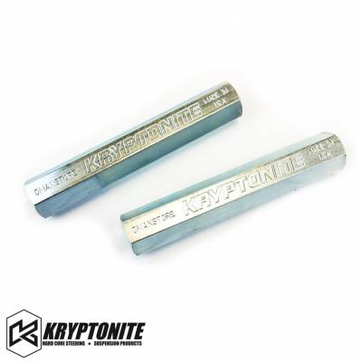 06-07 LBZ Duramax - Steering - Kryptonite - KRYPTONITE 01-10 Zinc Plated Tie Rod Sleeves