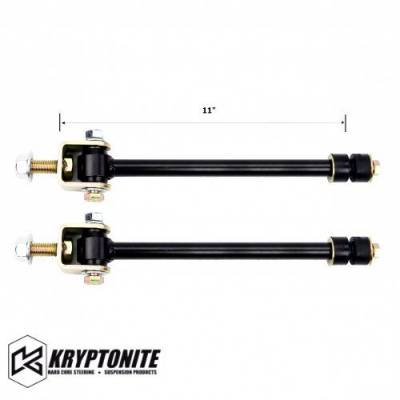 "07.5-10 LMM Duramax - Steering - Kryptonite - KRYPTONITE 01-17 Sway Bar End Links 4""-6"""
