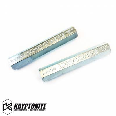 11-16 LML Duramax - Steering - Kryptonite - KRYPTONITE 11-17 Solid Steel Zinc Plated Tie Rod Sleeves