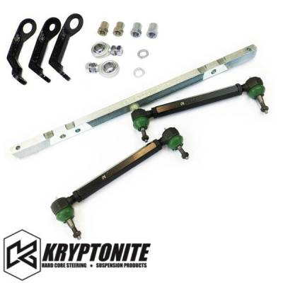 11-16 LML Duramax - Steering - Kryptonite - KRYPTONITE 11-17 (Street) Center Link Tie Rods W/ Pisk Kit Package