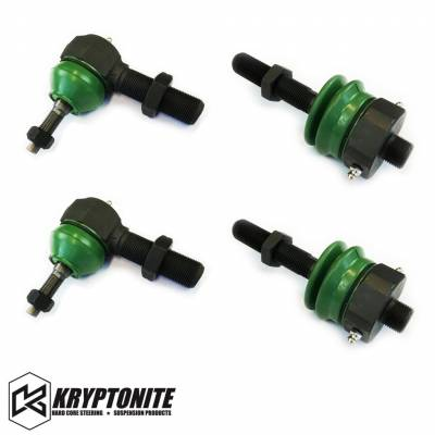 Kryptonite - KRYPTONITE 11-17 Tie Rod Rebuild Kit for the Rods with Stock Centerlink