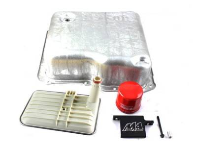 Transmission - Transmission Pans - Merchant Automotive - 01-17 Allison Deep Pan Kit With Deep Filter Lock