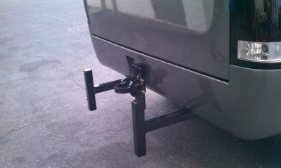 Big Hitch Products - BHP Clamp On Sled Stops - BEHIND Roll Pan