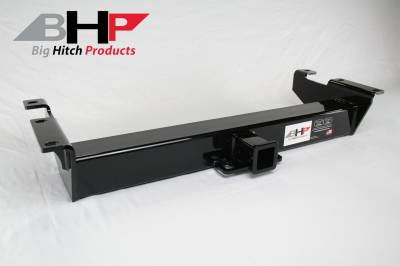 Towing, Receivers, and Hitches - Receivers - Big Hitch Products - BHP 01-07 GM Long Box BELOW Roll Pan 2 inch Receiver Hitch