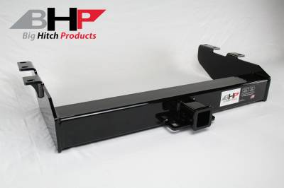 Towing, Receivers, and Hitches - Receivers - Big Hitch Products - BHP 01-07 GM Short Box Stock Bumper 2 inch Receiver Hitch