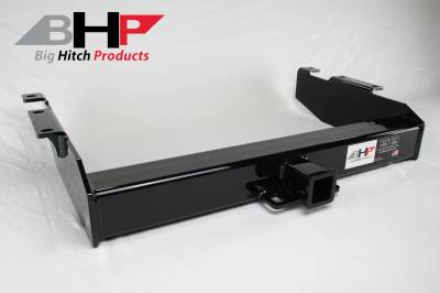 Towing, Receivers, and Hitches - Receivers - Big Hitch Products - BHP 01-07 GM Long Box Stock Bumper 2 inch Receiver Hitch