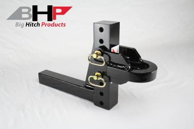 94-98 2nd Gen 12V 5.9 - Sled Pulling Parts - Big Hitch Products - BHP Adjustable Pulling Hitch - 2 inch