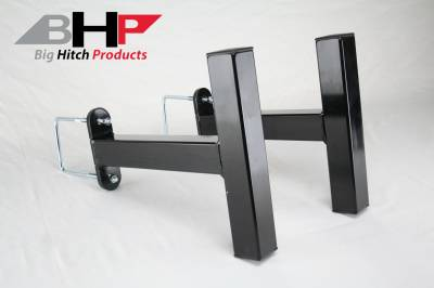 94-98 2nd Gen 12V 5.9 - Sled Pulling Parts - Big Hitch Products - BHP Clamp On Sled Stops - BELOW Roll Pan