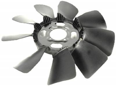 Engine - Belts, Tensioners, and Pulleys - AC Delco - 01-05 Duramax Cooling Fan Blade Assembly