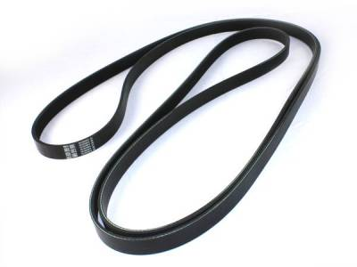 AC Delco - 02-05 Duramax Serpentine Belt, Dual Alternator