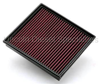 01-04 LB7 Duramax - Air Intake - S&B Filters - S&B Stock OE Replacement Filter- Oiled (Cleanable)