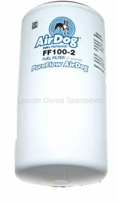 11-16 LML Duramax - Filters - AirDog - AirDog Replacement Fuel Filter (FF100-2)