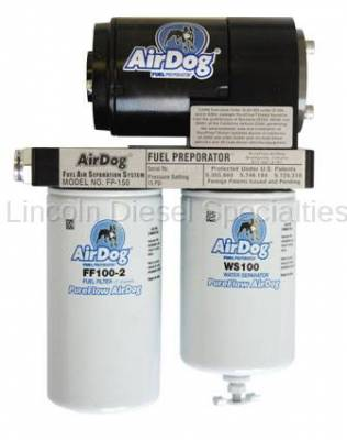 Fuel System - Lift Pumps - AirDog - AirDog® Original With Out In-Tank Fuel Pump, AirDog 100 Preset Quick Disconnect (1998.5-2004)