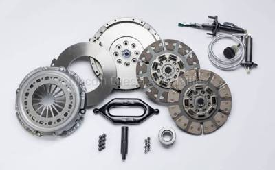 South Bend Clutch - South Bend Dodge/Cummins Organic/Ceramic Dual Street Clutch, Stage 3 (2005.5-2017)