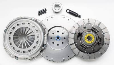 Transmission - Manual Transmission Clutches - South Bend Clutch - South Bend NV4500 Feramic Single Disc Clutch , W/Flywheel 550HP (1988-2004)