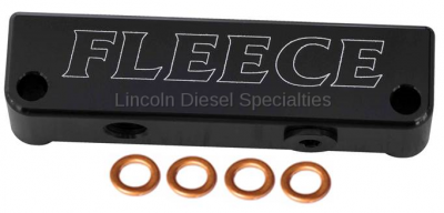 Fuel System - Aftermarket Fuel System - Fleece - Fleece Dodge/Cummins 6.7L, Fuel Filter Delete (2010-2018)