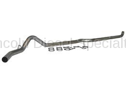 "Exhaust Systems - 4 Inch Systems - MBRP - MBRP PLM Series 4"" Down Pipe Back, Single Side, AL, NO MUFFLER (2001-2007)"
