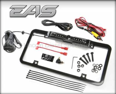 07.5-10 LMM Duramax - Tuners and Programmers - Edge - Edge 98202 Back-Up Camera License Plate Mount for CTS & CTS2