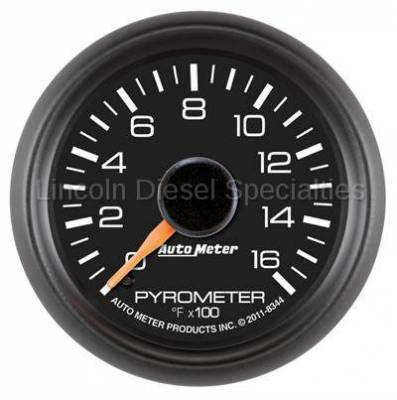 Instrument Gauges/Pods/Hardware - Gauges - Auto Meter - Auto Meter Factory Matched Pyrometer Gauge