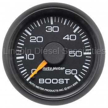 Instrument Clusters/Gauges - Gauges - Auto Meter - Auto Meter Factory Matched Boost Gauge