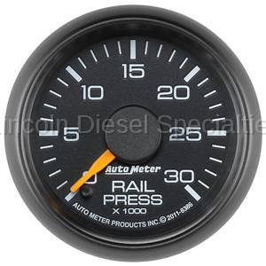 Instrument Gauges/Pods/Hardware - Gauges - Auto Meter - Auto Meter Factory Matched Fuel Rail Pressure Gauge