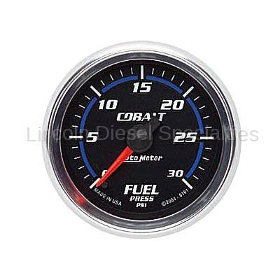 Instrument Gauges/Pods/Hardware - Gauges - Auto Meter - Auto Meter Cobalt Series Fuel Pressure Gauge