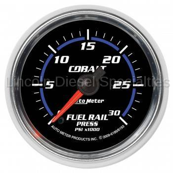 Instrument Gauges/Pods/Hardware - Gauges - Auto Meter - Auto Meter Cobalt Series Fuel Rail Pressure Gauge