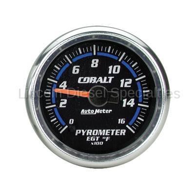 Instrument Gauges/Pods/Hardware - Gauges - Auto Meter - Auto Meter Cobalt Series Pyrometer Guage