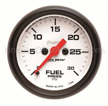 Instrument Gauges/Pods/Hardware - Gauges - Auto Meter - Auto Meter Phantom Series Fuel Pressure Gauge
