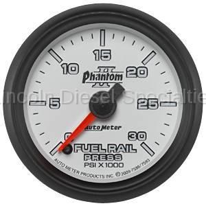 Instrument Clusters/Gauges - Gauges - Auto Meter - Auto Meter Phantom II Series Fuel Rail Pressure Gauge
