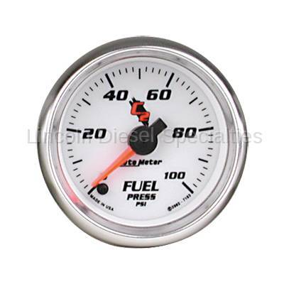 Instrument Gauges/Pods/Hardware - Gauges - Auto Meter - Auto Meter C2 Series Fuel Pressure Gauge