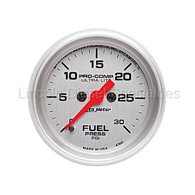 Instrument Clusters/Gauges - Gauges - Auto Meter - Auto Meter Ultra-Lite Fuel Pressure Gauge