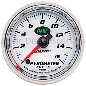Instrument Gauges/Pods/Hardware - Gauges - Auto Meter - Auto Meter NV Pyrometer Gauge