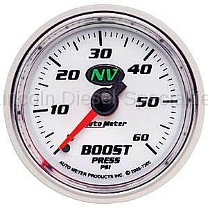 Instrument Gauges/Pods/Hardware - Gauges - Auto Meter - Auto Meter NV Boost Gauge