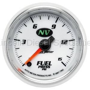 Instrument Gauges/Pods/Hardware - Gauges - Auto Meter - Auto Meter NV Fuel Pressure Gauge