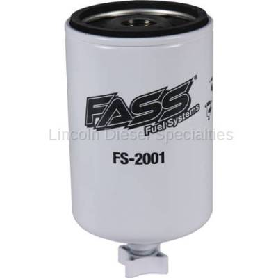 Fuel System - Fuel Filters - Fass - FASS Water Separator (Removing Emulsified Water)