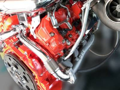 Pacific Performance Engineering - PPE High-Flow Race Exhaust Manifolds with Up-Pipes ~ Twin Turbo (2001-2016) - Image 3