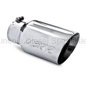 "Exhaust - Exhaust Tips - MBRP - MBRP Universal 6"" Dual Wall Angled Exhaust Tip (4"" Inlet, 6"" Outlet)"