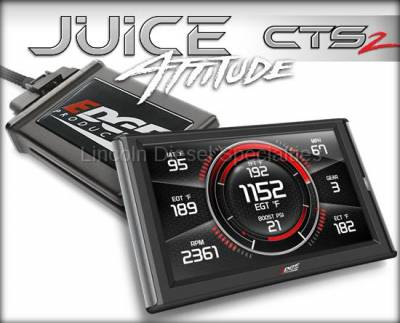 01-04 LB7 Duramax - Tuners and Programmers - Edge - Edge Juice with Attitude CTS2 (LB7)