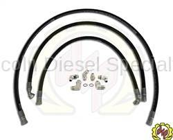 "Deviant Race Parts - Deviant 5/8"" Leak Free High Performance Transmission Cooler Repair Lines 2006-2010"