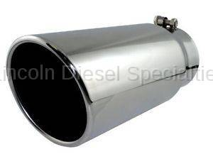"AFE - AFE Mach Force-XP 5"" Polished Stainless Steel Exhaust Tip; (4"" Inlet, 5"" Outlet)"