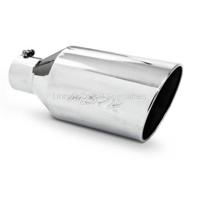 "Exhaust - Exhaust Tips - MBRP - MBRP Universal 8"" Rolled End T304 Tip (4"" Inlet 8""Outlet)"