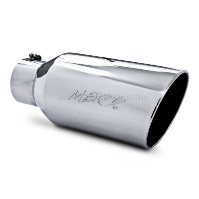"Exhaust - Exhaust Tips - MBRP - MBRP Universal 8"" Rolled End T304 Tip (5"" Inlet 8"" Outlet)"
