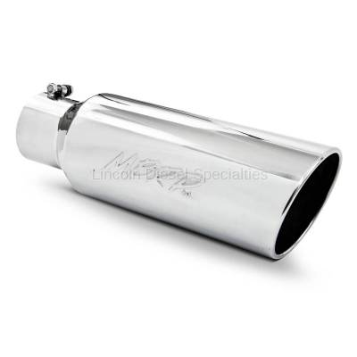 "Exhaust - Exhaust Tips - MBRP - MBRP Universal 6"" Rolled End T304  Exhaust Tip (4"" Inlet 6 "" Outlet)"