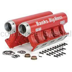 Exhaust - Exhaust Manifolds & Up-Pipes - Banks - Banks Power Big Hoss Twin 16 Port Manifold Assembly For Duramax (2001-2015)